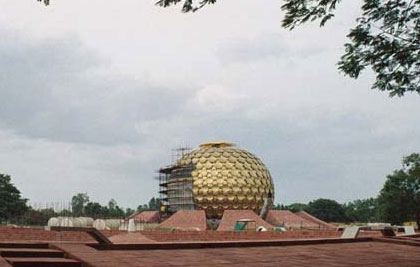 Auroville is an experimental, international township founded by Mirra Alfassa