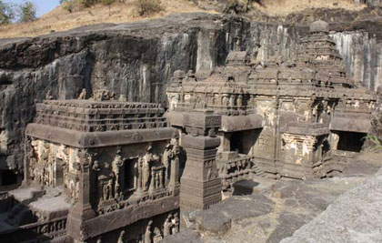 The whole Ellora album on Flickr: http://bit.ly/Q1tAnA